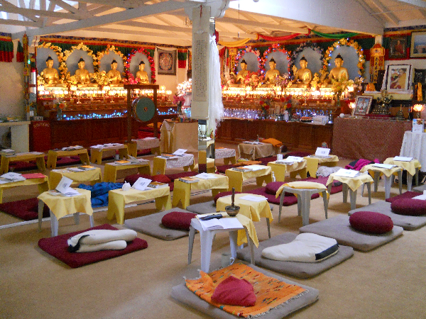Gompa/Meditation Hall
